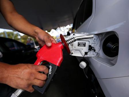 Gasolina volta a subir nos postos de combustíveis