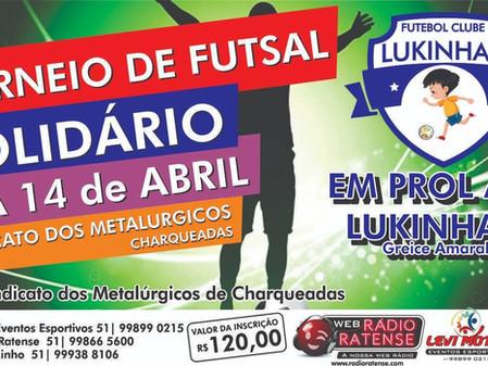 Torneio de Futsal solidário em Charqueadas