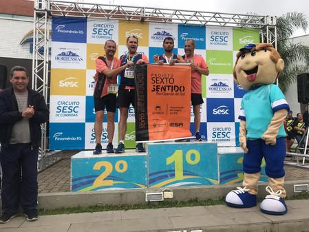 Paratleta butiaense conquista medalha de ouro no Circuito Sesc de Corridas, em Camaquã