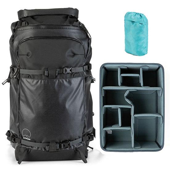 Shimoda Action X70 Backpack Black +Core Unit Large DV オリジナルセット