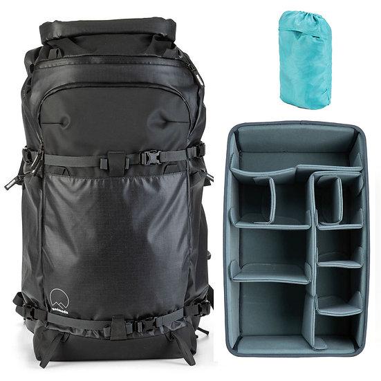 Shimoda Action X70 Backpack Black + Core Unit Extra Large DV オリジナルセット