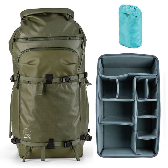 Shimoda Action X70 Backpack Army Green + Core Unit Extra Large DV オリジナルセット