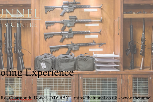 Special Price for 3-hour combined Shooting Experience  (adult)