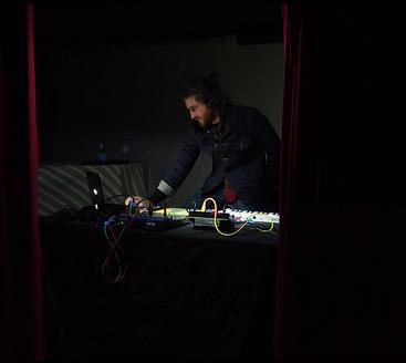 Yoann Pisterman performance dans le noir