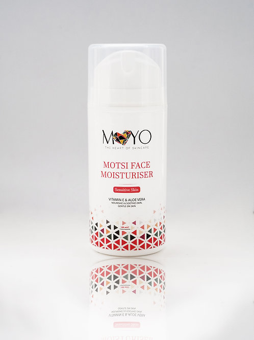 100ml MOTSI FACE MOISTURISER– Sensitive Skin
