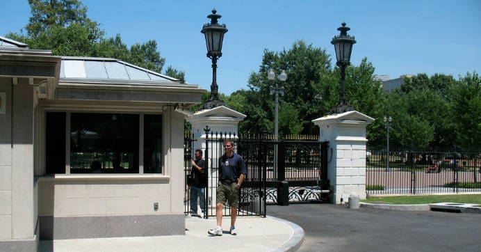 white-house-gate - Byan Systems inc