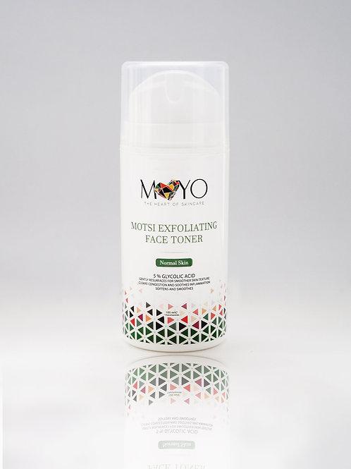 100ml MOTSI EXFOLIATING FACE TONER- Normal Skin