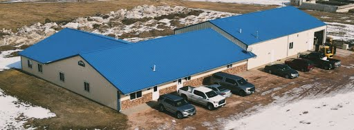 Byan Systems Inc - Warehouse Office Location USA Drone Aerial View