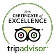 Sarkiki Reef Resort is the proud recepient of the 2016 Cerificate of Excellence from Trip Advisor