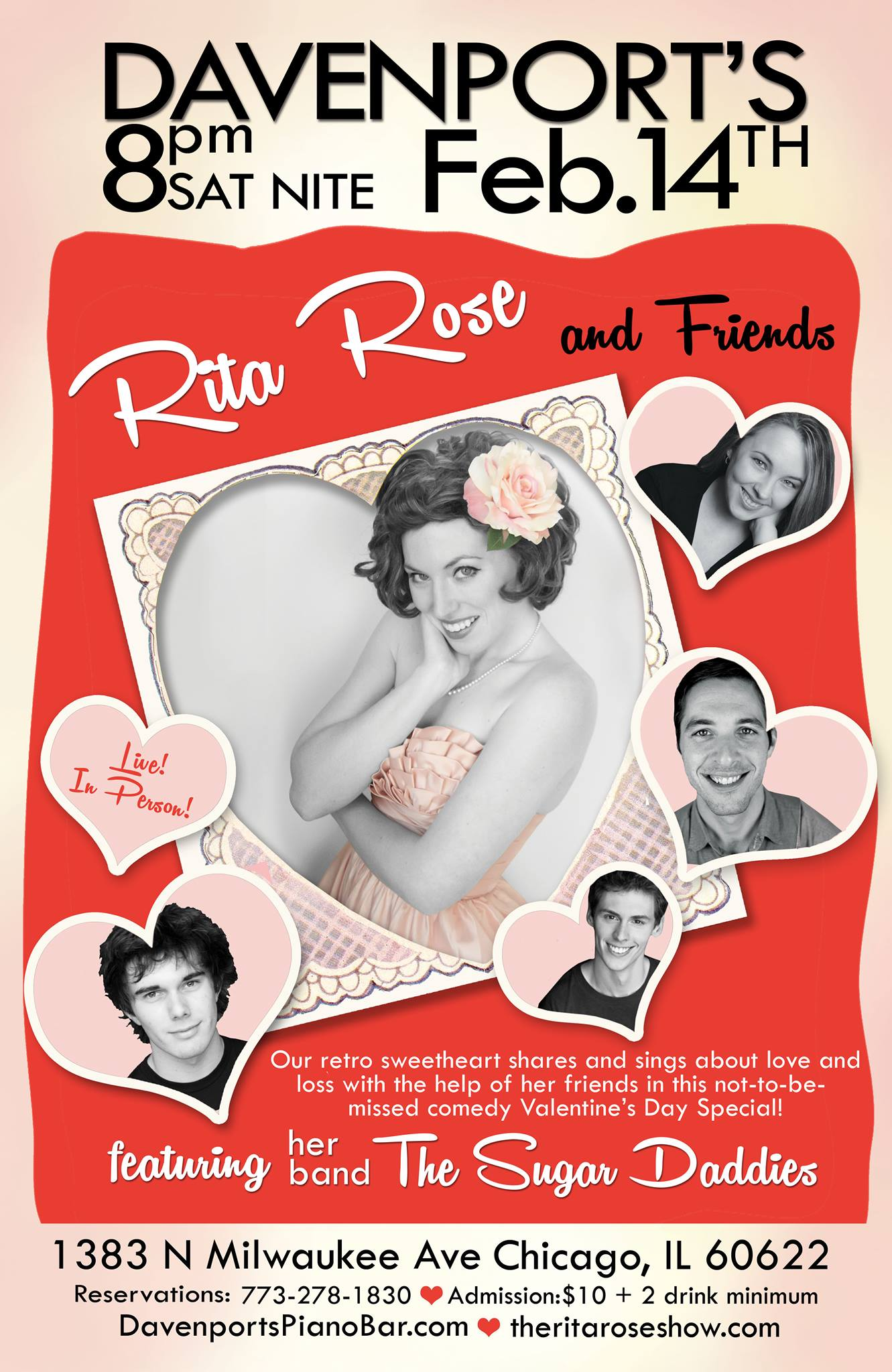 Rita Rose & Friends VDay Show