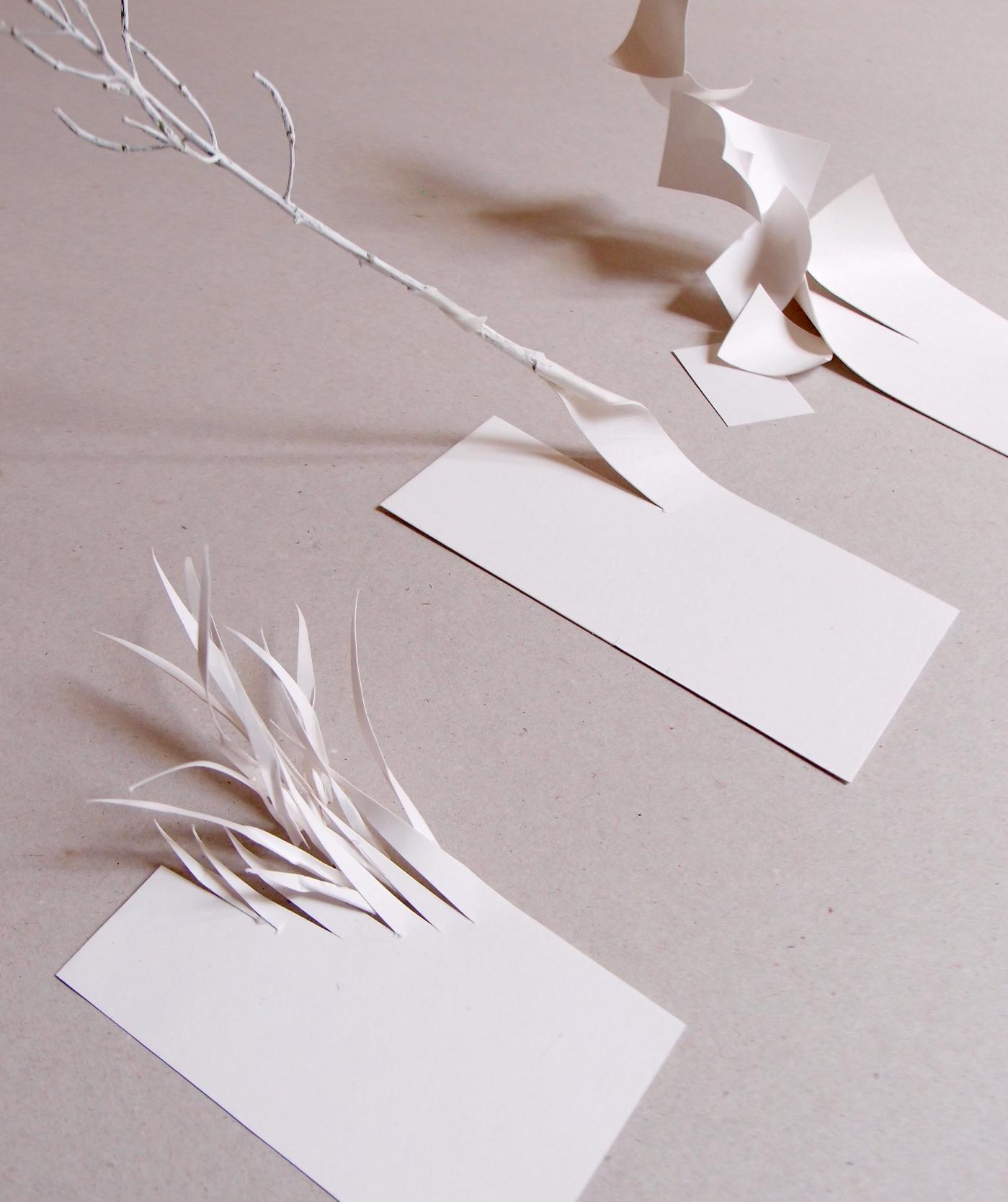 Maquetas en cartón de transformacion