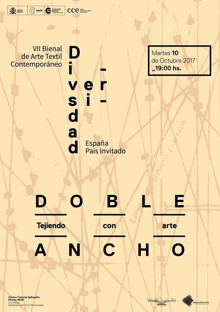 Bienal de Arte Textil en Montevideo