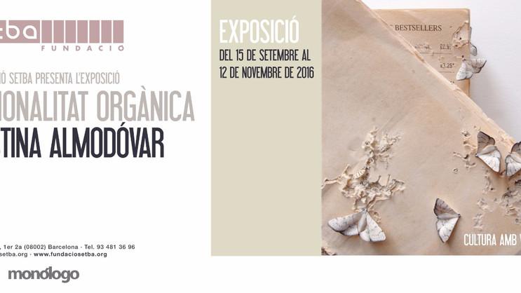 """Exposición """"Racionalidad orgánica"""" en la Fundación Setba de Barcelona"""