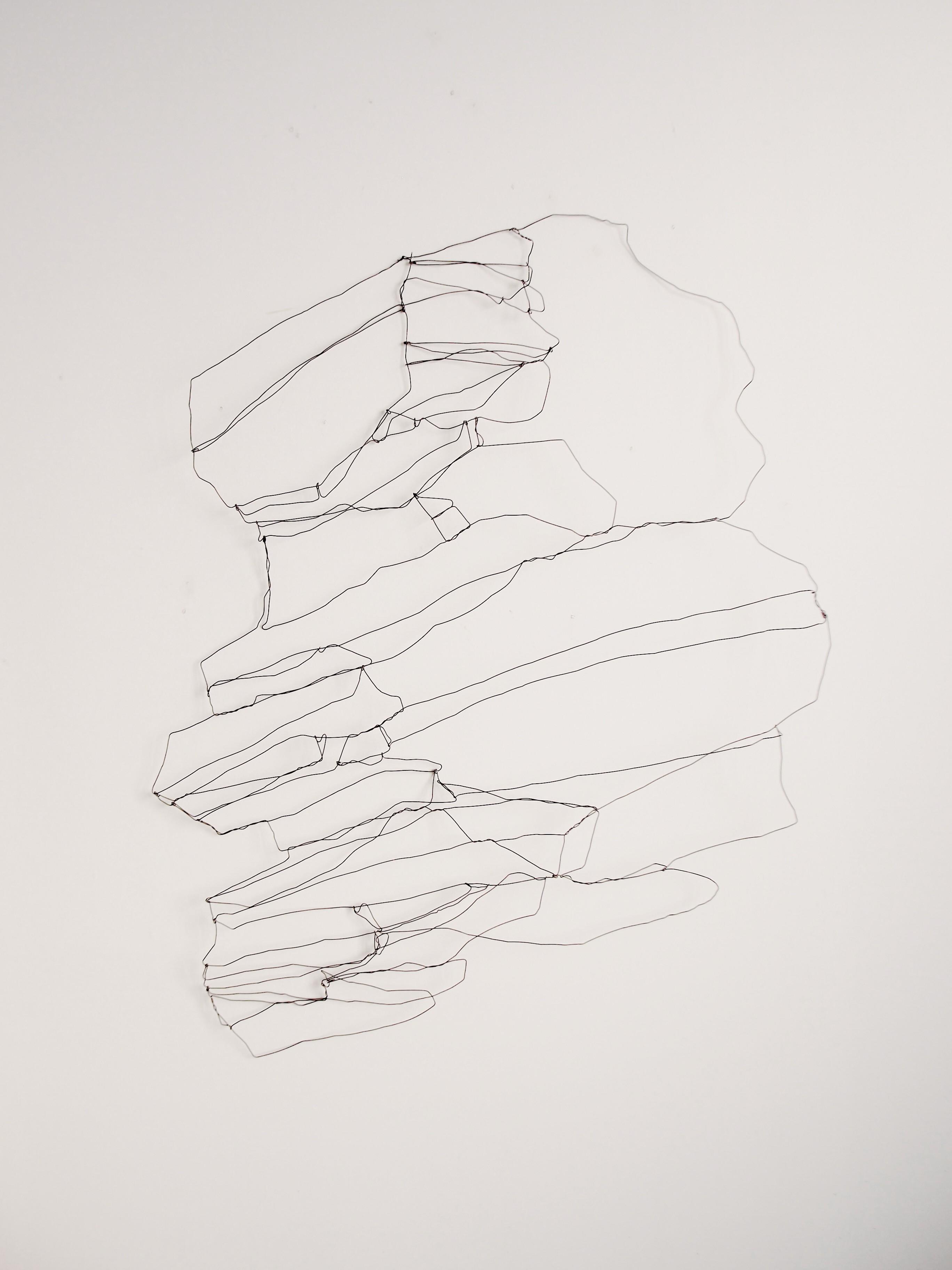 GEOLOGÍA. Dibujo de alambre contínuo