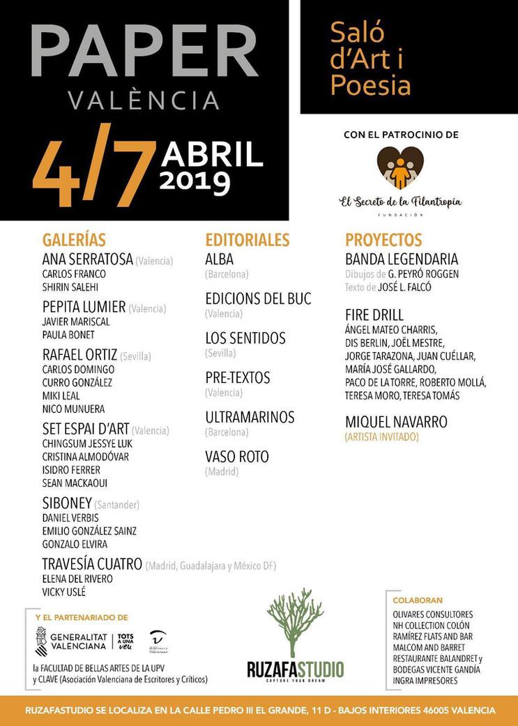 Salón de Arte y Poesía en Valencia