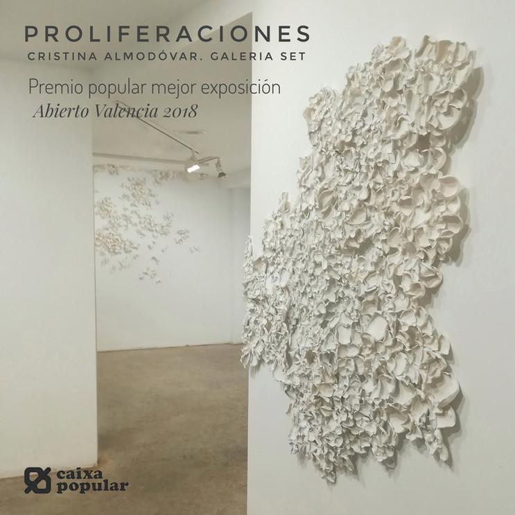 Premio Caixa Popular mejor exposición Abierto Valencia 2018