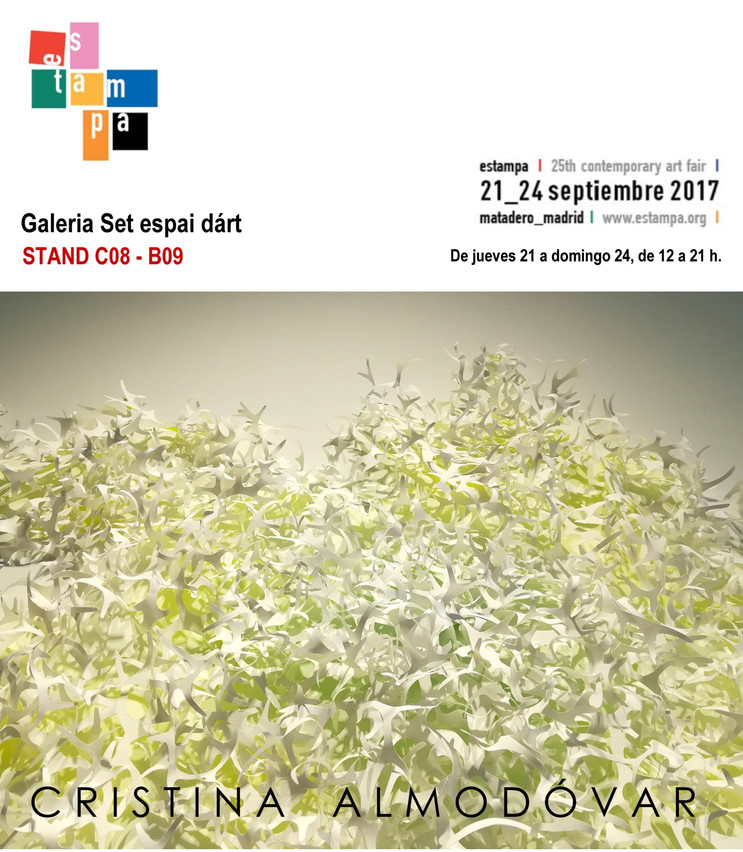 ESTAMPA 2017. Galería Set espai d´art