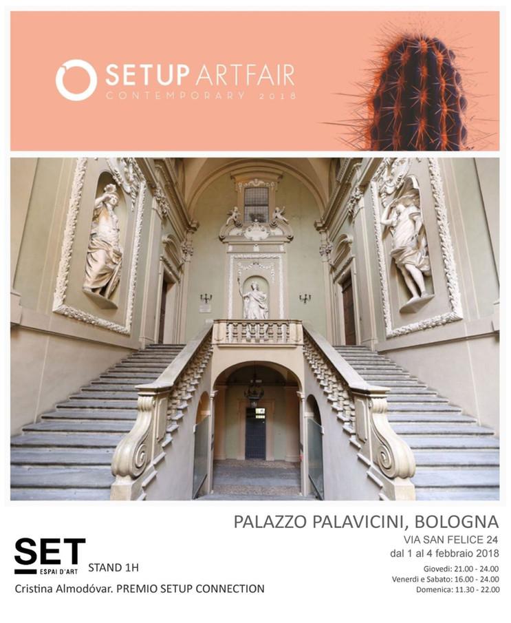 SETUP Artfair BOLONIA