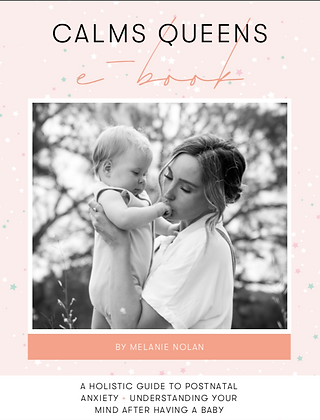 Postnatal Anxiety + Depression Ebook