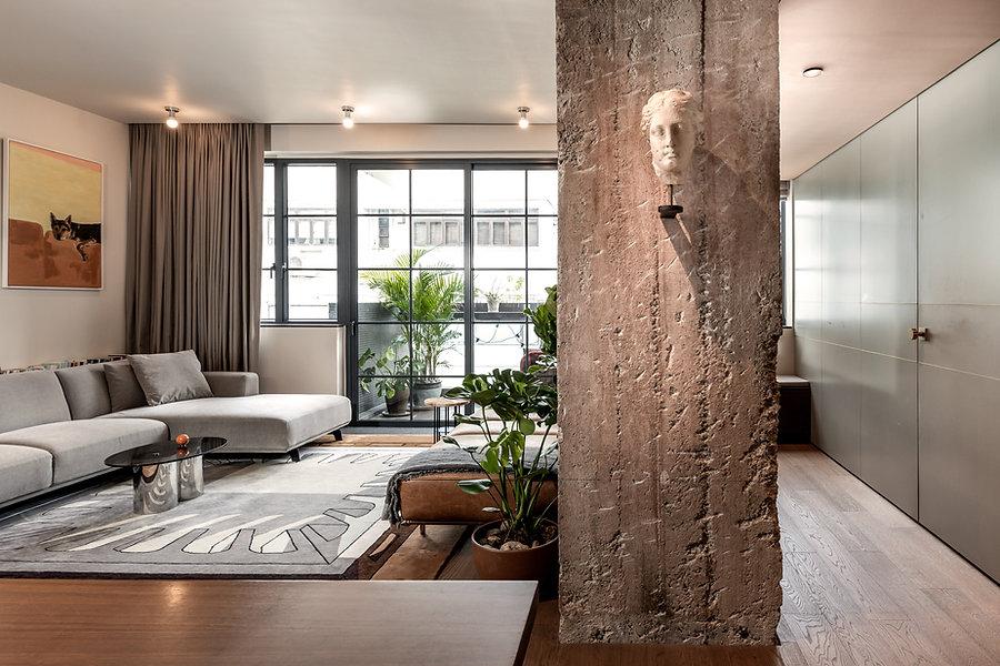 living room hong kong interior design