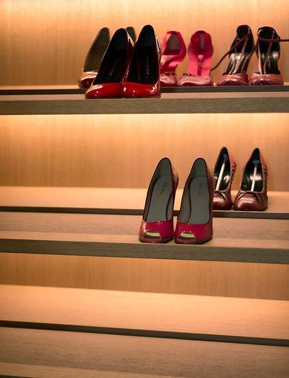 custom luxury closet organization interior design styling