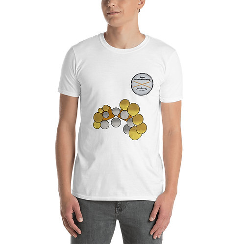 Short-Sleeve Unisex T-Shirt with Logo & Sticks