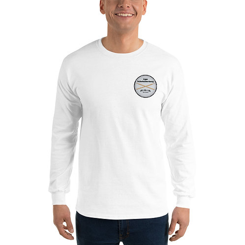 Men's Long Sleeve Shirt with Logo