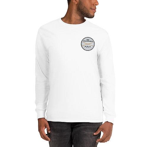 Herren Langarm Shirt mit Logo & Sticks