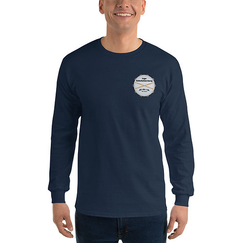 Men's Long Sleeve Shirt with Logo & Sticks