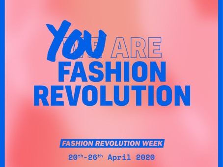 Self-isolate the sustainable way: Join Fashion Revolution's digital fashion campaign