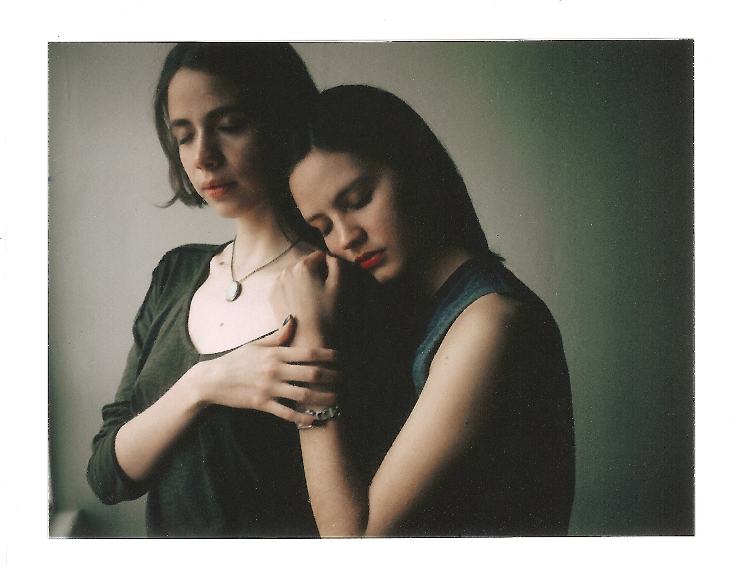 anette and mariana polaroid