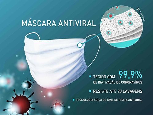 Máscara Antiviral (5 unidades)