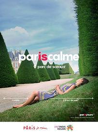 paris quiet garden parc des sceaux relaxed