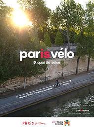 """Paris bicycle """"Quais de Seine"""" in the morning"""