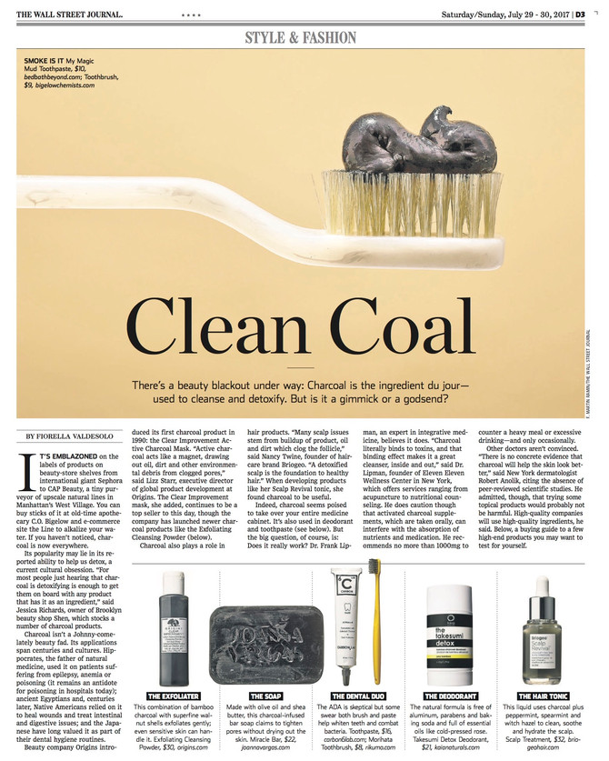 Carbon 6 Lab in the Wall Street Journal