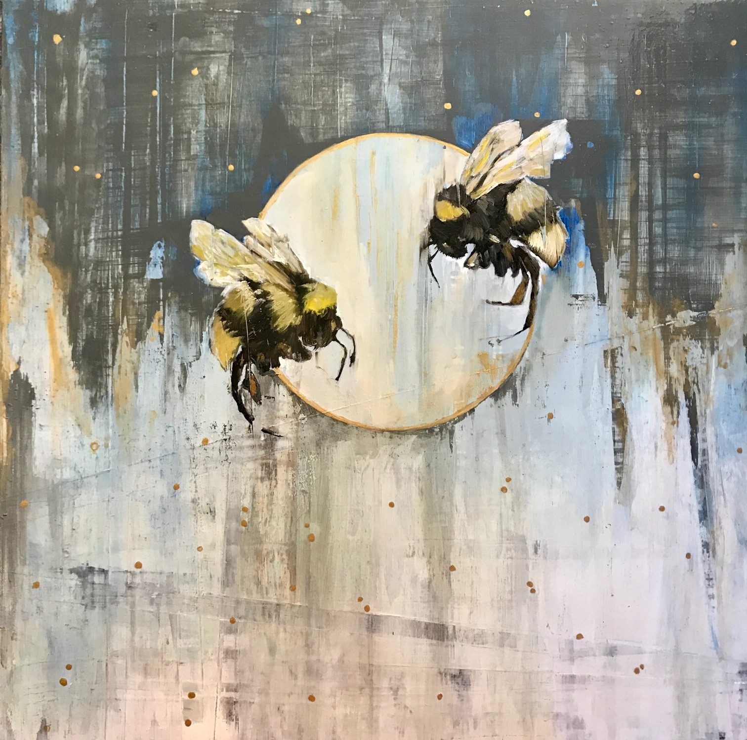 SOLD: Bees at Dusk