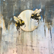 SOLD: Bees at Dusk
