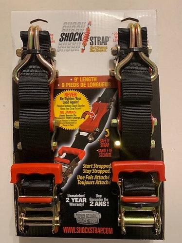 Shockstrap / Gurtlänge 5,5 Meter / Gurtbreite 5 cm / Im Set