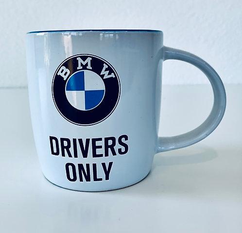 BMW Tasse, stabiler Keramik, 0,33 l