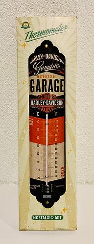 Harley Davidson Blech Thermometer 6,5 x 28 cm