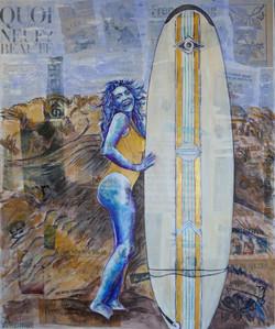 Marynette la surfeuse