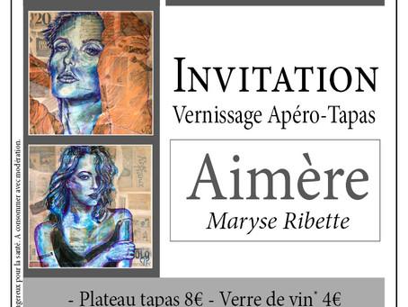 Exposition personnelle Aimère à Bordeaux