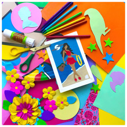colourful collage