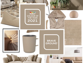 Dulux announce Colour of The Year 2021: Brave Ground