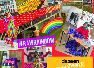 Vote for the RAW Rainbow at the Dezeen Awards