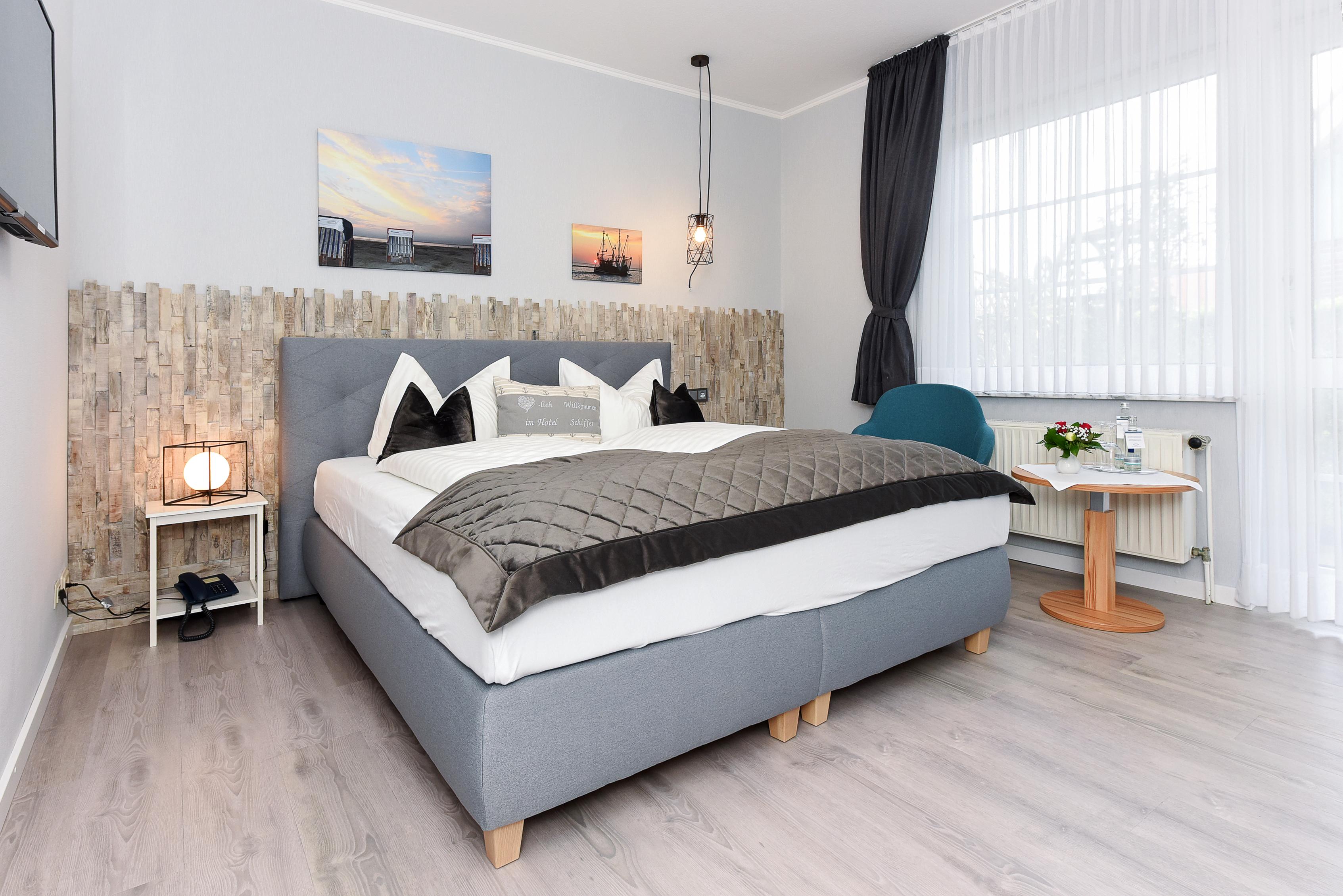 Hotel Schiffer Doppelzimmer Wohnbeispiel
