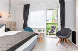 Hotel Schiffer Doppelzimmer Terrasse