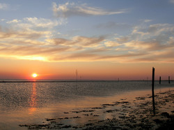 Bensersiel Sonnenuntergang