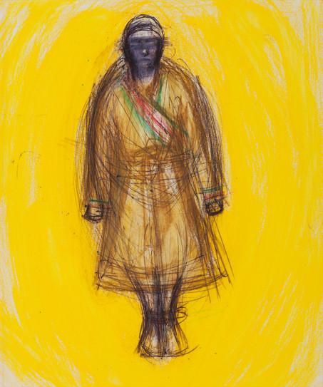 Man in Golden Light