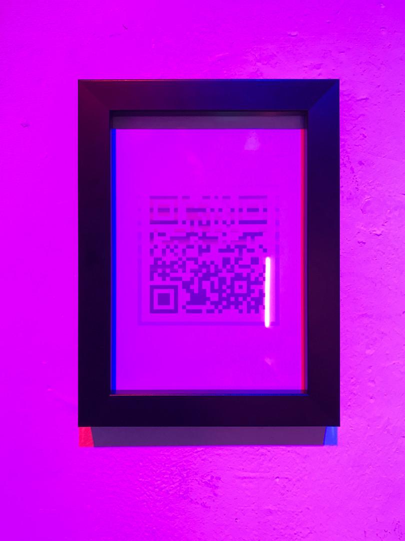 P2 Paper, Wooden frame,LED light